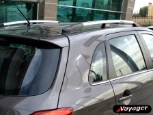 ALUMINUM ROOF RAIL-POLISHED